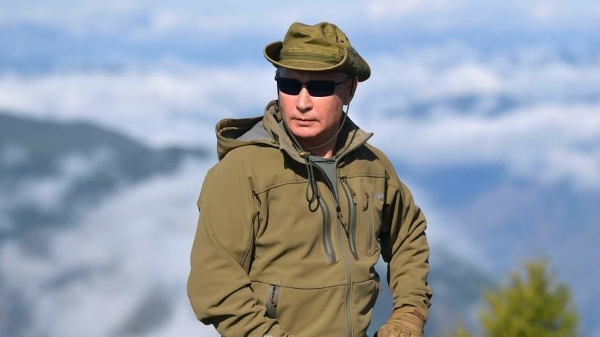Владимир Путин проведет ближайшие выходные втайге