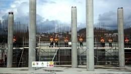 Наплощадке «Сириуса» началось строительство концертного зала мирового уровня