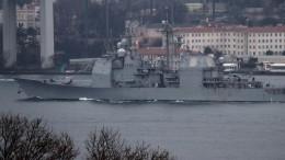 Крейсер ВМС США «Монтерей» вошел вакваторию Черного моря