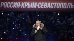 Путин: мыготовы жить вновых геополитических условиях