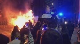 Несколько полицейских пострадали вБристоле входе ожесточенных столкновений