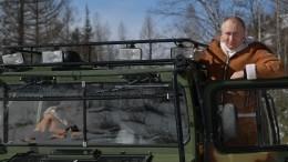«Акакже!»— Путин отдохнул вТыве сШойгу вкомпании ядерного чемоданчика