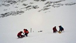 12-летнюю девочку ищут вХибинах после схода лавины
