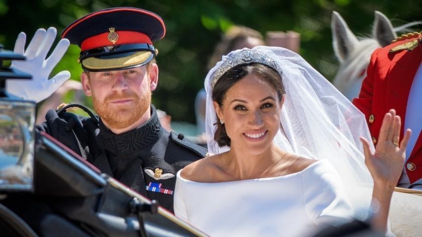 Принц Гарри иМеган Маркл опровергли свои слова отайной свадьбе