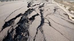 Гигантский пласт земли грозит стереть слица Земли половину Тбилиси