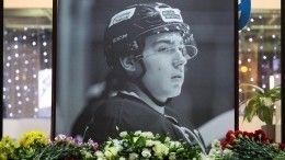ВПетербурге увековечат память трагически погибшего хоккеиста Тимура Файзутдинова