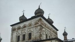 Обрушился купол собора XVII века вВеликом Новгороде