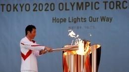 Угнетающее впечатление: олимпийский факел погас наэстафете вЯпонии