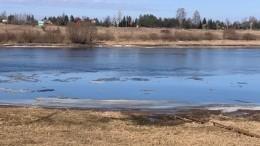 Вреке Волхов вВеликом Новгороде произошел разлив нефтепродуктов