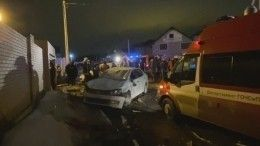Трехэтажный дом обрушился вНовой Москве, под завалами ищут людей