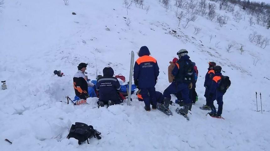 Пропавший после гибели девочки вХибинах лыжник найден мертвым