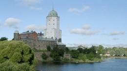 Посетитель замка вВыборге рухнул сшестиметровой лестницы