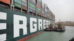 Власти Египта назвали виновного вблокировке Суэцкого канала