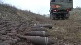 ВРостовской области саперы уничтожили схрон боеприпасов времен ВОВ