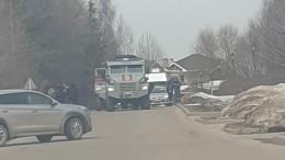 Бронеавтомобиль спецназа «Тигр» прибыл наместо стрельбы вПодмосковье