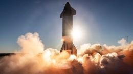 Очередной провал или все поплану? Корабль Илона Маска Starship вновь взорвался