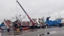«Это был крен»: пострадавший вЧПназаводе «Пелла» оперевернувшемся корабле