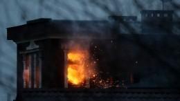 При штурме частного дома сострелком вПодмосковье применили гранатомет