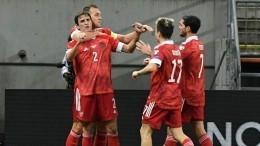 Сборная России уступила Словакии вматче квалификации ЧМ-2022
