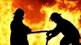 Фабрика попроизводству кожаных изделий загорелась под Ярославлем