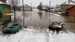 Путин заявил ориске подтопления допяти тысяч населенных пунктов