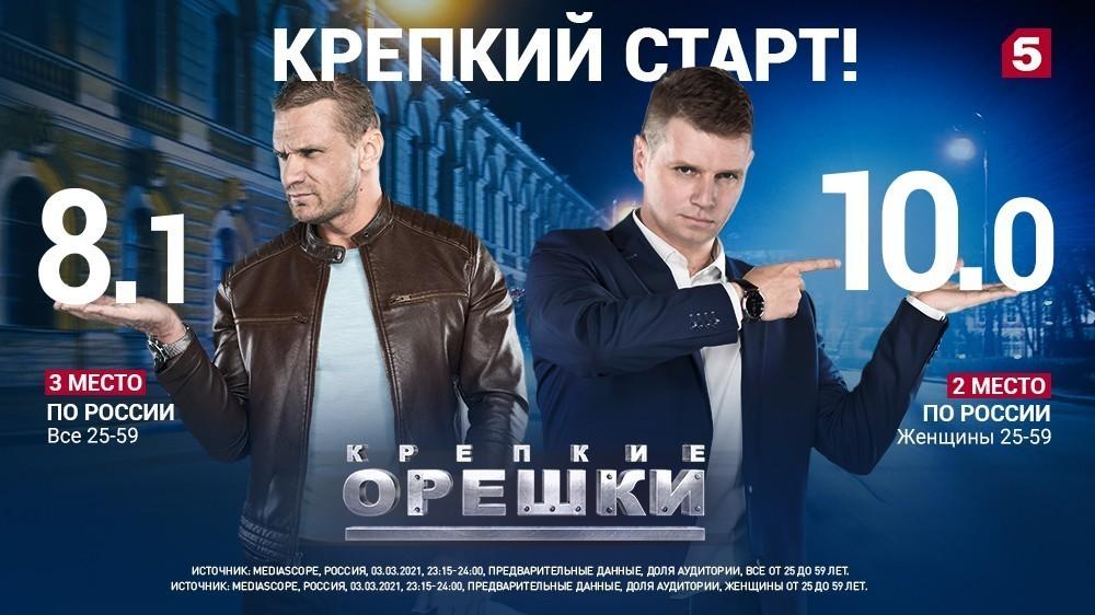 Россия выбирает «Крепкие орешки»!