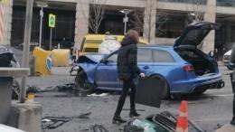 Депстранс сообщил огибели пострадавшей вмассовом ДТП вцентре Москвы