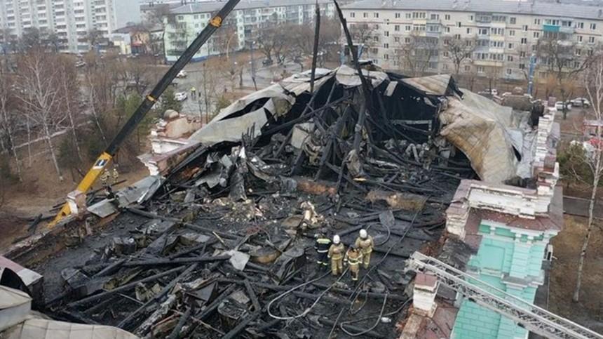 Кардиоцентр, вкотором оперировали вовремя пожара, отреставрируют нераньше 2022 года