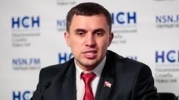 Видео: впротестующих против депутата отКПРФ вСаратове бросили гранату