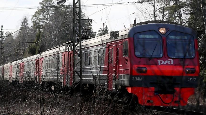 СКР начал проверку после пожара вэлектричке вКалужской области