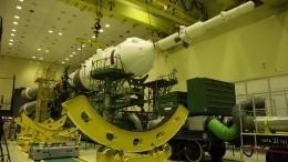 Госкомиссия разрешила вывоз «Союз-2.1а» настартовый стол Байконура