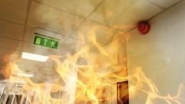 Видео: жители Кудрово чуть несгорели из-за взрыва электросамокатов вквартире