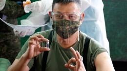 Шойгу: почти 400 тысяч военных привились откоронавируса