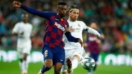 Телеканал РЕН ТВэксклюзивно покажет матч «Реал»— «Барселона»