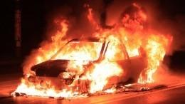 Видео: машина взорвалась вЛефортовском тоннеле Москвы