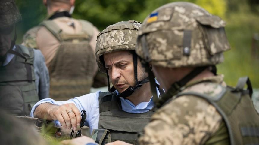 Приезд Зеленского вДонбасс заставил боевиков ВСУ усилить обстрел. Есть погибший