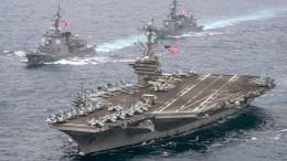 Пентагон отказался комментировать отправку кораблей вЧерное море