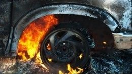 Видео: две фуры столкнулись под Челябинском, один изводителей сгорел заживо