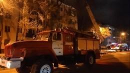 Площадь пожара вжилой пятиэтажке Воронежа увеличилась— видео
