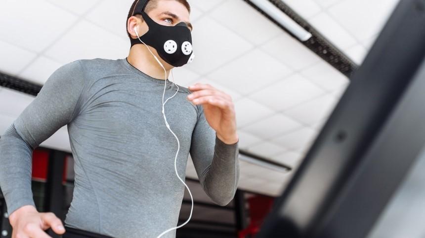 Умная защита отСОVID-19: вРоссии разработали дышащие маски для фитнеса иофиса