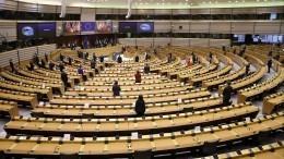 ВЕвропарламенте предложили усилить антироссийские санкции