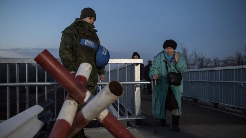 Песков обвинил Киев впровокациях иразжигании гражданской войны вДонбассе