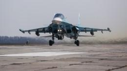 Бомбардировщики Су-34 получили новые комплексы электронной разведки