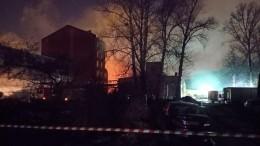 Пожар на«Невской мануфактуре» вПетербурге локализован