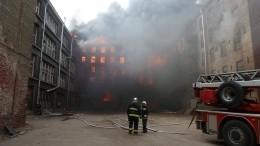Как здание «Невской мануфактуры» засчитанные минуты стало огненной крепостью?