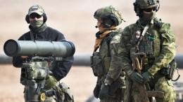 ВМинобороны заявили обответных мерах наугрожающую военную деятельность НАТО
