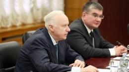 Председатель СКРФвстретился сгенпрокурором иглавой МВД Казахстана