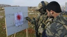 Российские военные показали мастер-класс сирийскому спецназу