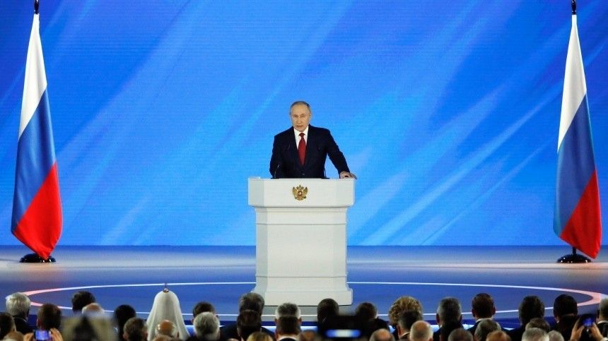 Названо место оглашения послания президента РФФедеральному собранию