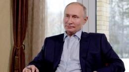«Сделал ипошел взал»— Путин рассказал, как себя чувствует после прививки